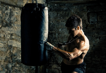 Punch Bag Workout